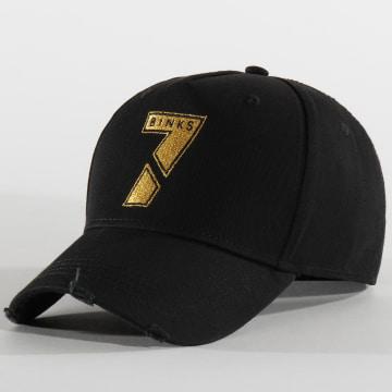 Casquette Logo Noir Or