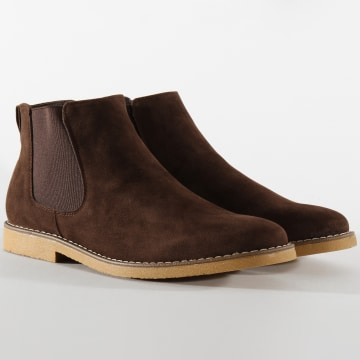 Chelsea Boots M2723 Marron