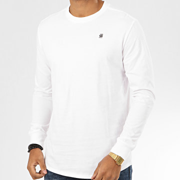 Tee Shirt Manches Longues Oversize Lash D16397-B353 Blanc