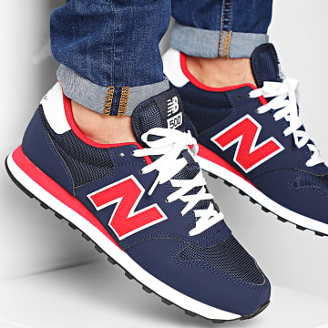 New Balance - Baskets Lifestyle 500 Navy Red