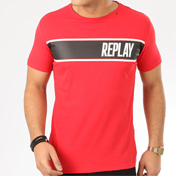 Replay - Tee Shirt M3004 Rouge