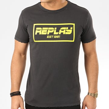 Replay - Tee Shirt M3027 Gris Anthracite