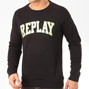 Replay - Sweat Crewneck M3081 Noir