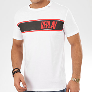 Replay - Tee Shirt M3004 Blanc