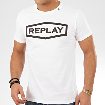 Replay - Tee Shirt M3058 Blanc