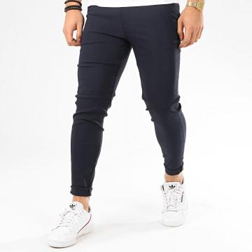 Frilivin - Pantalon Chino 1697 Bleu Marine