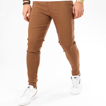Frilivin - Pantalon Chino 1697 Marron