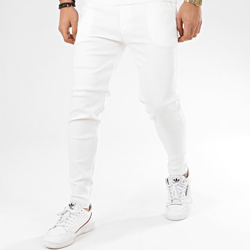 Frilivin - Pantalon Chino 1697 Blanc