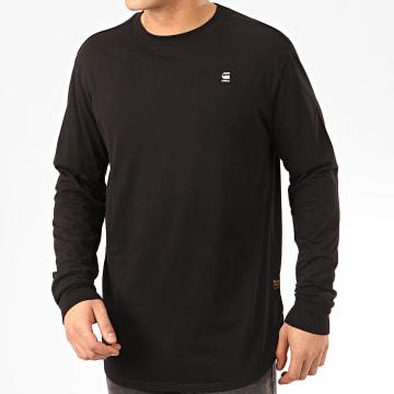 G-Star - Tee Shirt Manches Longues Lash D16397-B353 Noir