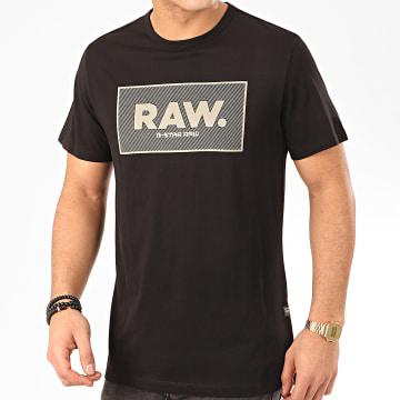 G-Star - Tee Shirt Boxed GR D16375-336 Noir