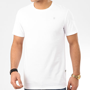 G-Star - Tee Shirt Base-S D16411-336 Blanc