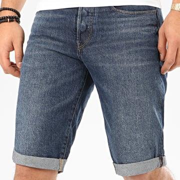 G-Star - Short Jean 3301 S07432-8973 Bleu Denim