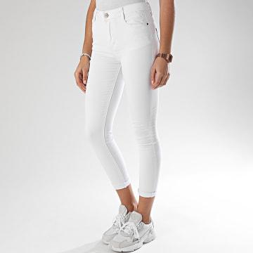 Jean Slim Femme 551 Blanc