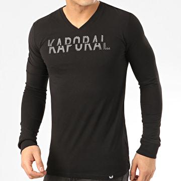 Tee Shirt Manches Longues Mori Noir