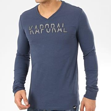 Tee Shirt Manches Longues Mori Bleu Marine