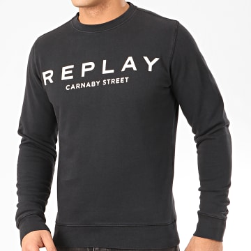 Replay - Sweat Crewneck M3093 Noir
