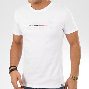 Teddy Smith - Tee Shirt Gordon Blanc
