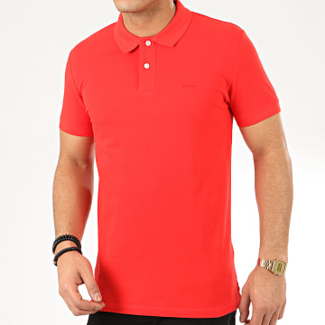 Polo Manches Courtes 990EE2K316 Rouge