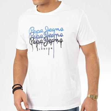 Pepe Jeans - Tee Shirt Moe PM507172 Blanc