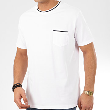 Tee Shirt Poche Manaus Blanc