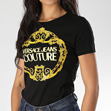 Tee Shirt Slim Femme B2HVA7E0-30311 Noir Renaissance
