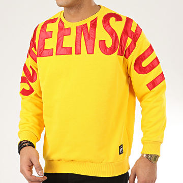 Classic Series - Sweat Crewneck 19512 Jaune Rouge