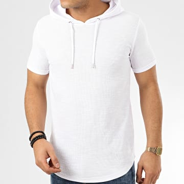 Project X - Tee Shirt Capuche Oversize 2010097 Blanc