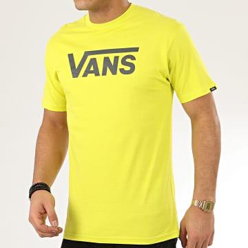 Vans - Tee Shirt Vans Classic Jaune