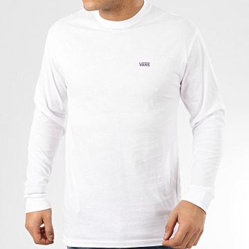 Tee Shirt Manches Longues Left Chest Hit Blanc