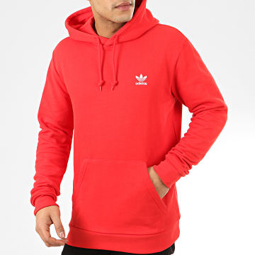 Sweat Capuche Essential FM9957 Rouge