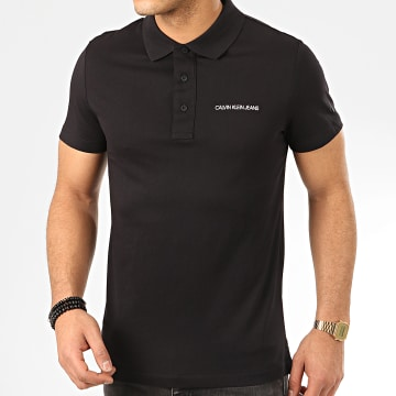 Polo Manches Courtes Stretch Institutional 5344 Noir