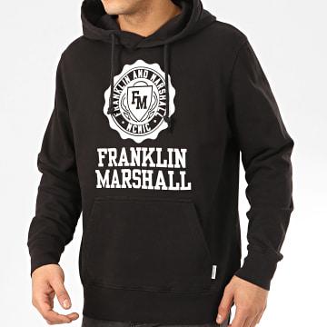 Franklin And Marshall - Sweat Capuche JM5001-2000P01 Noir