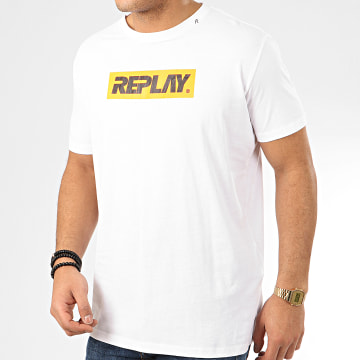 Replay - Tee Shirt M3003 Blanc