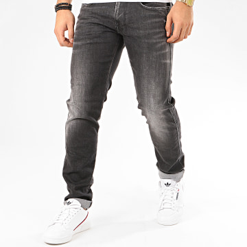 Replay - Jean Slim Anbass M914Y-249-681 Gris Anthracite