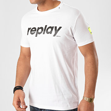 Replay - Tee Shirt M3005 Blanc