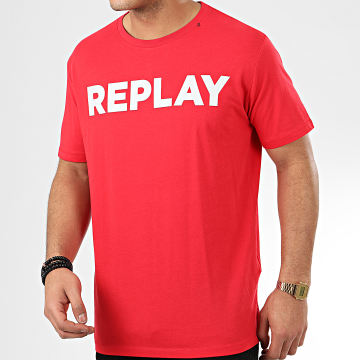 Replay - Tee Shirt M3594 Rouge