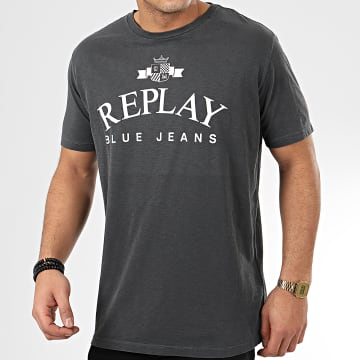 Replay - Tee Shirt M3033 Gris Anthracite