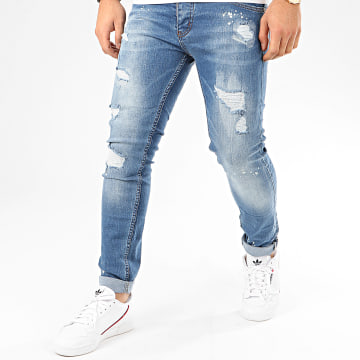Jean Slim 195 Bleu Denim