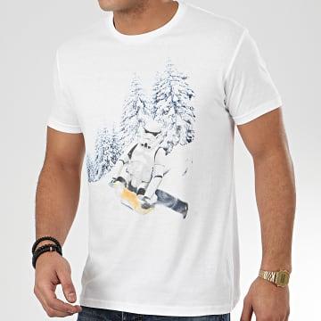 Tee Shirt Trooper Winter Toboggan Blanc