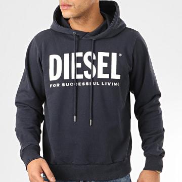 Diesel - Sweat Capuche Hood Division 00SAQJ-0BAWT Bleu Marine