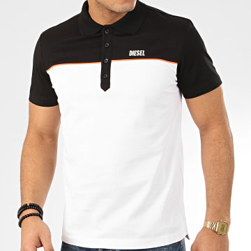 Polo Manches Courtes Ralfy Bic 00SEEY-0QAZU Blanc Noir