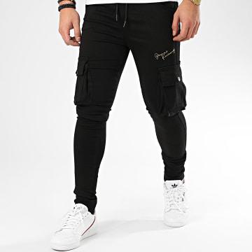Pantalon Cargo Skinny Black Night Collection GKG002340 Noir Doré