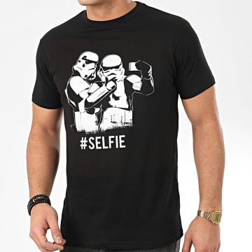 Tee Shirt Trooper Selfie Noir