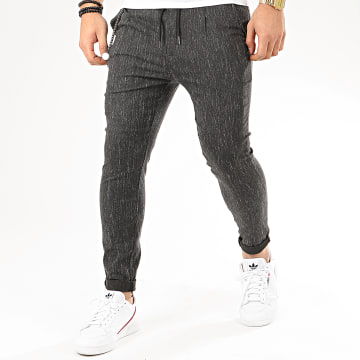 Uniplay - Pantalon T3517 Noir Chiné