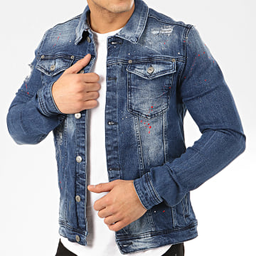 Uniplay - Veste En Jean 227 Bleu Denim