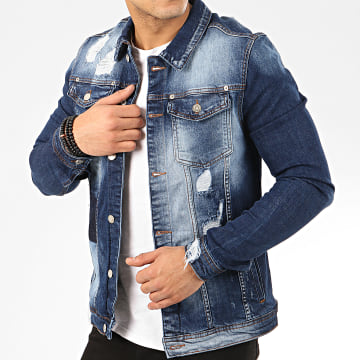 Uniplay - Veste En Jean 228 Bleu Denim