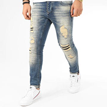 Jean Slim 207 Bleu Denim