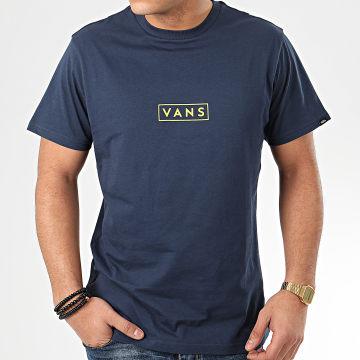 Vans - Tee Shirt Easy Box A3HREYIZ Bleu Marine