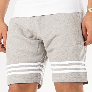Adidas Originals - Short Jogging Outline FM3873 Gris Chiné