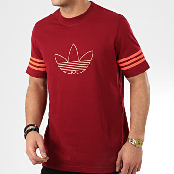 Tee Shirt Outline FM3898 Bordeaux
